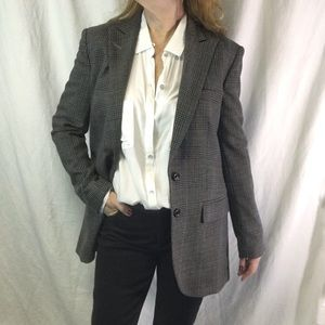 Body by Victoria's Secret Plaid Boyfriend Blazer